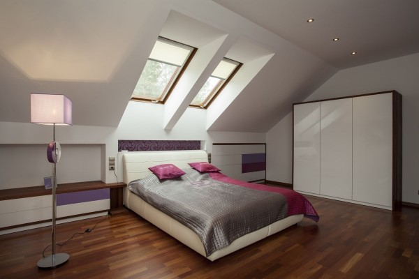 dormitoare amenajate la mansarda 18