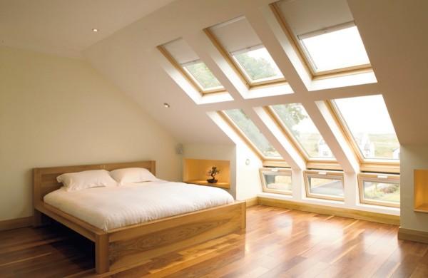 dormitoare amenajate la mansarda 24