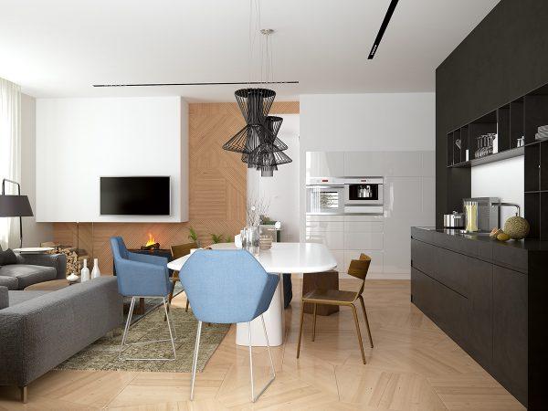 idei de decor pentru apartamente 13