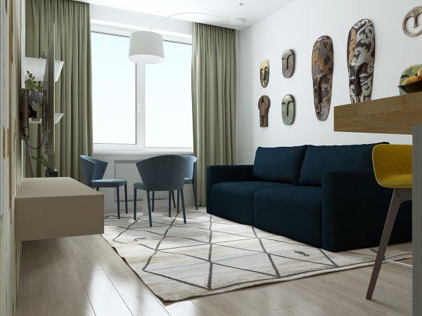 idei de decor pentru apartamente mici 7