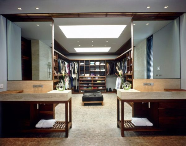 Dressing modern cum sa va folositi spatiul din case fresh home - Dressing en longueur ...
