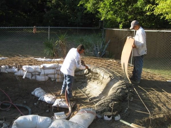 28 - Shotcrete application