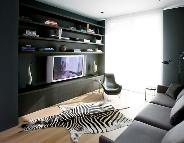 A-perfect-idea-for-the-contemporary-living-room-in-gray