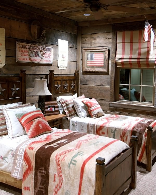 Americana-meets-rustic-style-inside-this-kids-bedroom