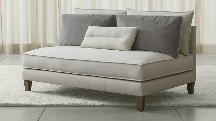 Armless-loveseat-from-Crate-Barrel