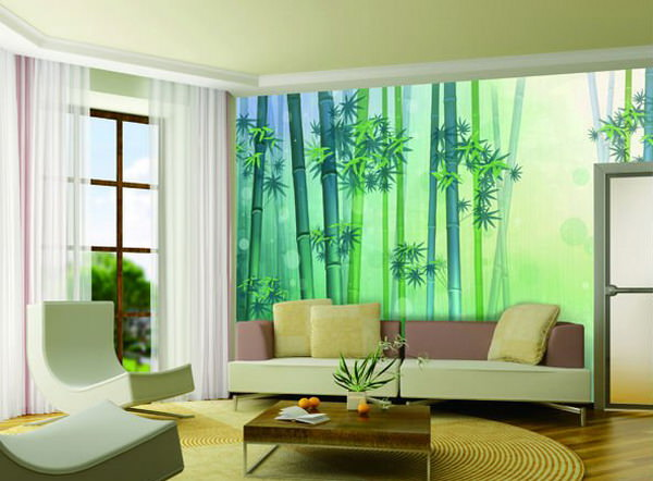 Bamboo-Wall-Mural-Design
