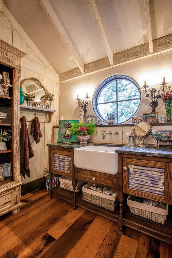 Bathroom-organization-solutions-for-those-who-love-rustic-style