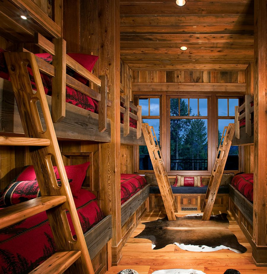 Bring-the-mountain-cabin-look-home-with-a-rustic-kids-bedroom