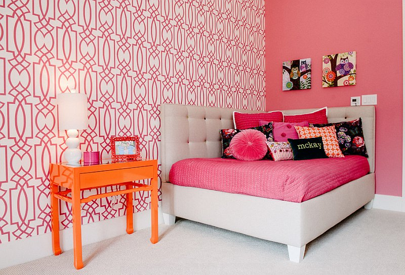 Colorful-kids-room-with-a-cool-corner-bed