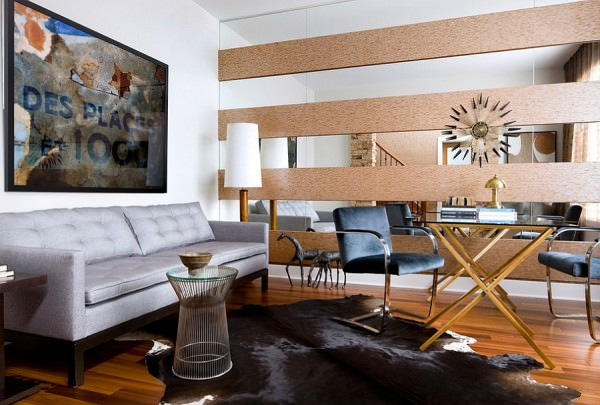 Give-your-masculine-living-room-a-midcentury-modern-touch