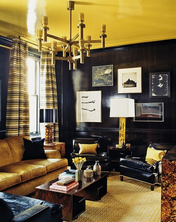 Gold-adds-a-sense-of-luxury-to-the-living-room