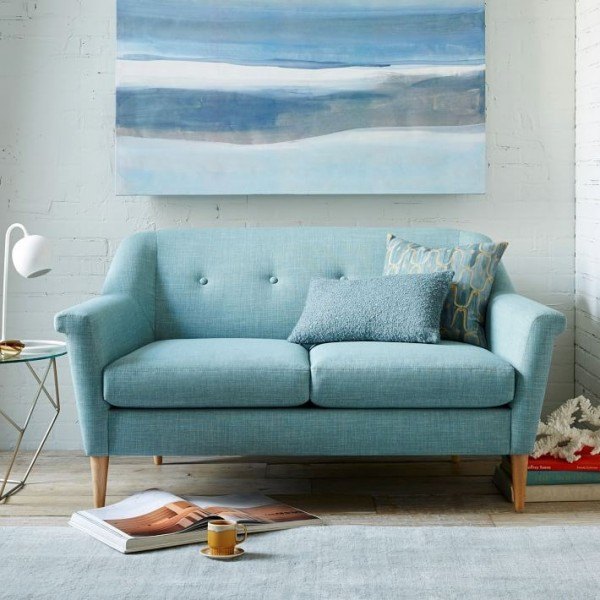 Minty-loveseat-from-West-Elm