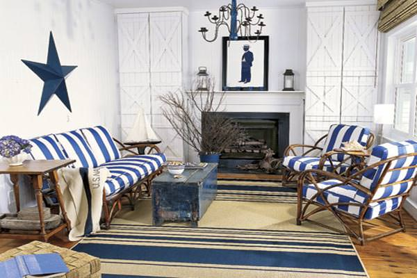 Nautical-homes-Living-room-with-nautical-decor