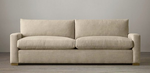 Petite-upholstered-sofa-from-Restoration-Hardware