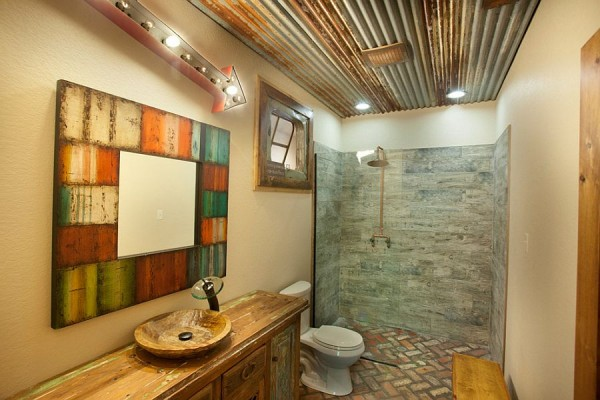 Reclaimed-materials-find-a-cozy-new-home-in-the-rustic-bathroom