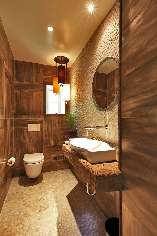 Rustic-style-works-well-even-in-small-powder-rooms