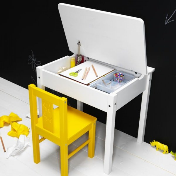 SUNDVIK-Children-desk-white
