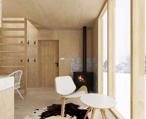 Simple-wooden-surfaces-and-decor-shape-the-interior-of-the-minimal-winter-retreat