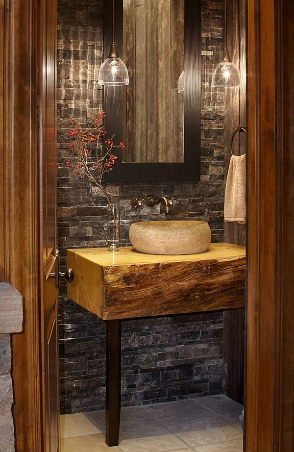 Small-custom-vanity-for-the-elegant-rustic-bathroom