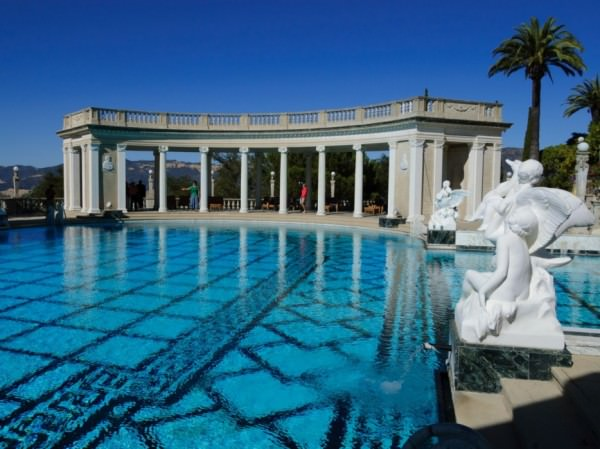 The Neptune pool is at the Hearst Castle in San Luis Obispo, California.