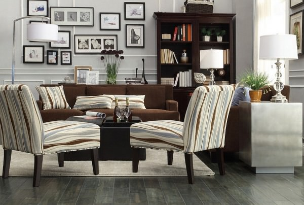 Trendy-living-room-with-a-classy-masculine-look