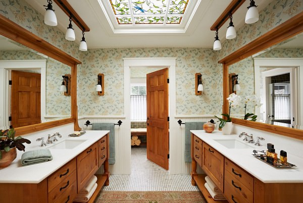 Use-a-skylight-that-blends-in-with-the-style-and-the-theme-of-your-existing-bathroom