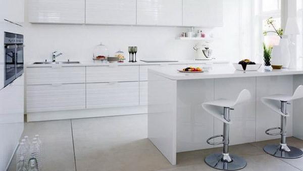design alb bucatarie