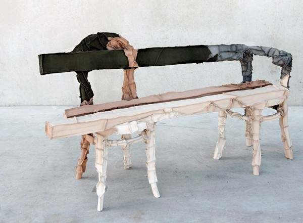 bench-of-Weird-Furniture-Collection-Upholstered-by-Leather-Waste