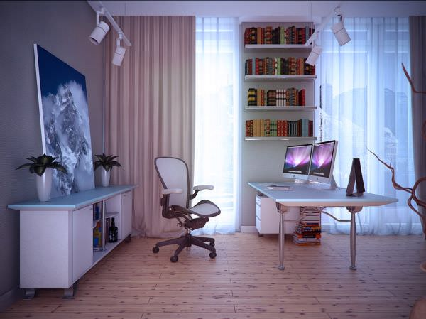 birou cu scaun confortabil