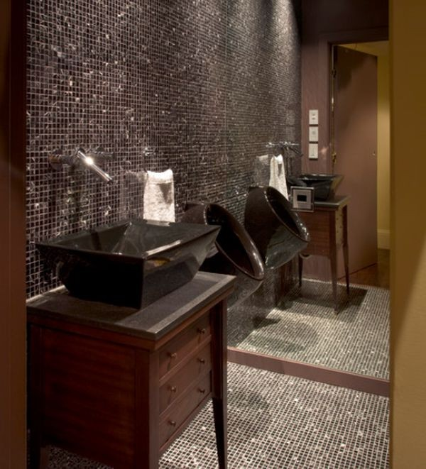 black-bathroom-design
