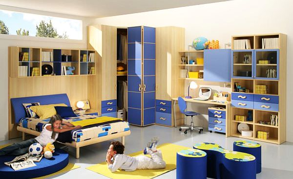 blue-yellow-Teenage-Boys-Rooms
