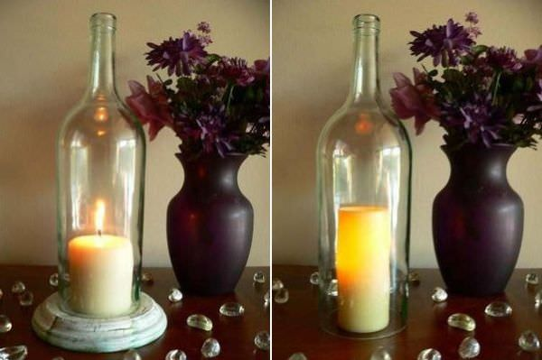 bottle-candle-holder
