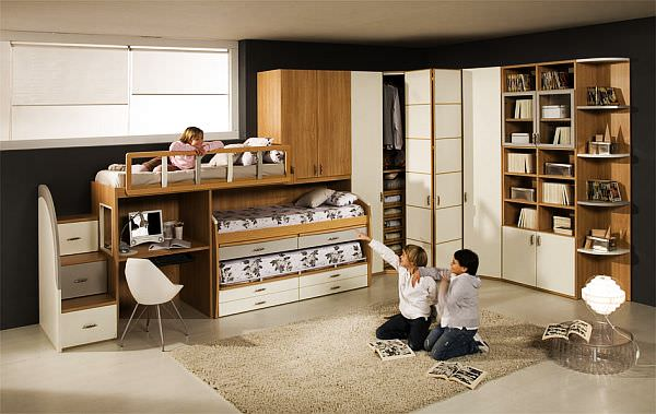 bunk-beds-Teenage-Boys-Rooms