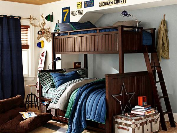 bunk-beds-teenage-boys-room-idea