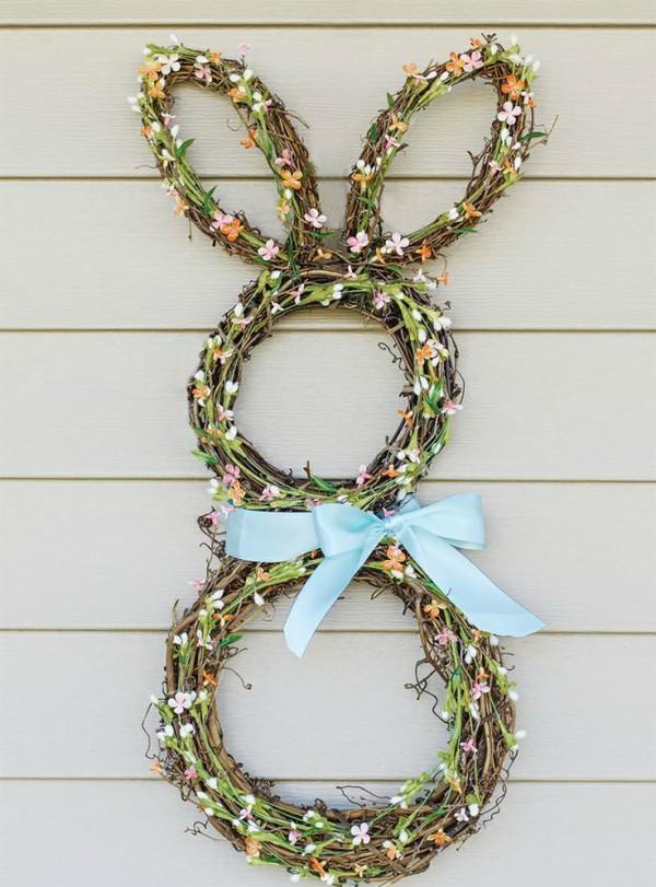 bunny-wreath
