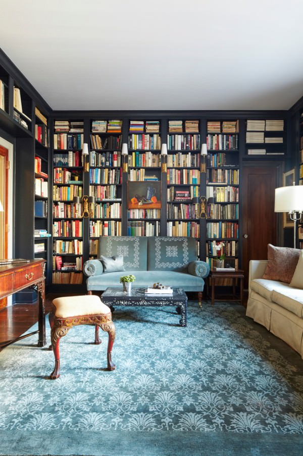 comfortable-seating-home-library