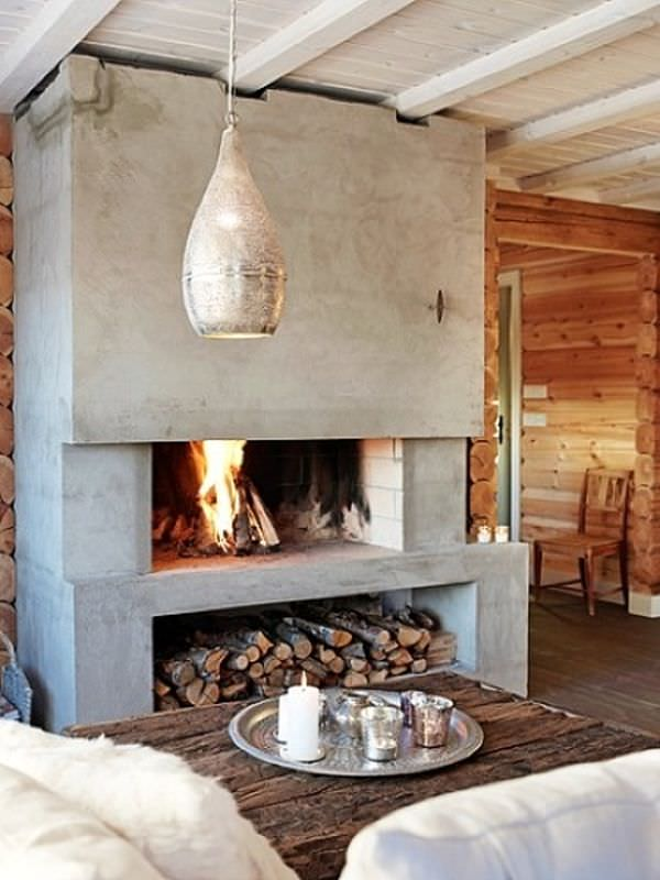 concrete-fireplace-design-firewood-under