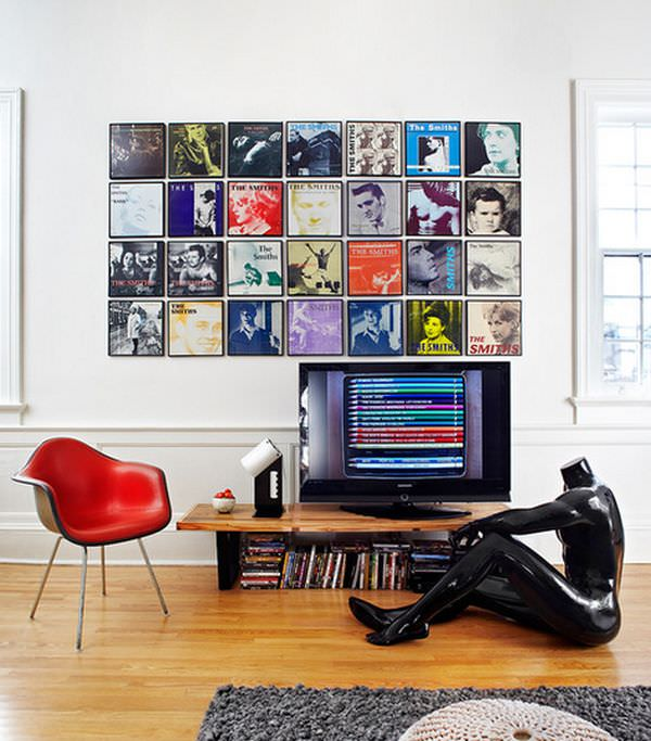 dispay-your-dvd-collection-on-wall