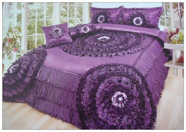 flower_design_bed_sheet
