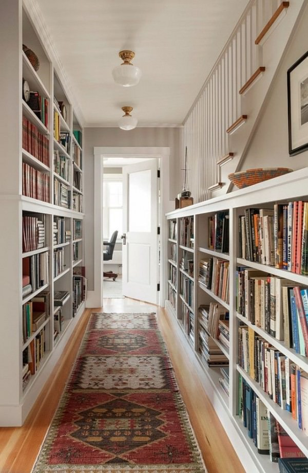 hallway-home-library