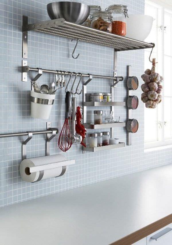 ikea-kitchen-GRUNDTAL-Wall-Organizer-System