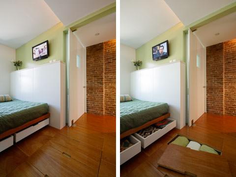imagine de ansamblu dormitor
