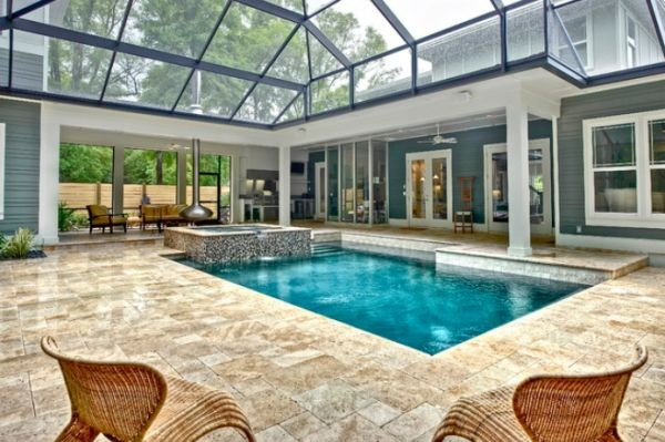 indoor-pool-with-glass-ceiling