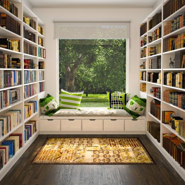 library-as-reading-nook