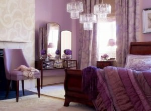 purple bedroom furniture