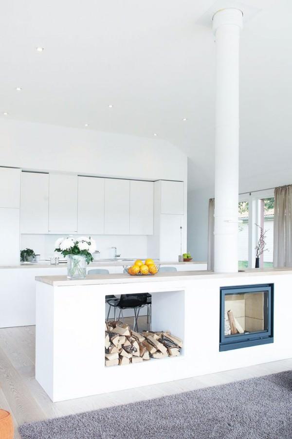 modern-kitchen-island-fireplace-and-wood-storage