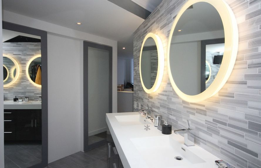 modern-round-mirror-lights-for-bathroom