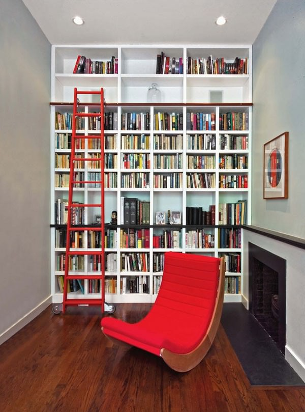 narrow-small-home-library