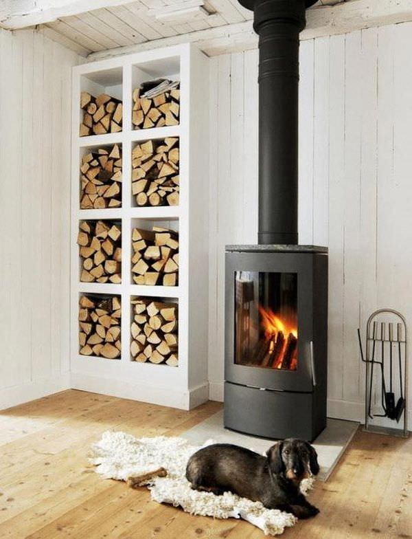 nordic-design-wood-stove-and-firewood-storage