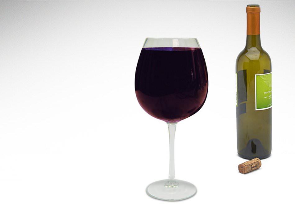 pahar de vin mare